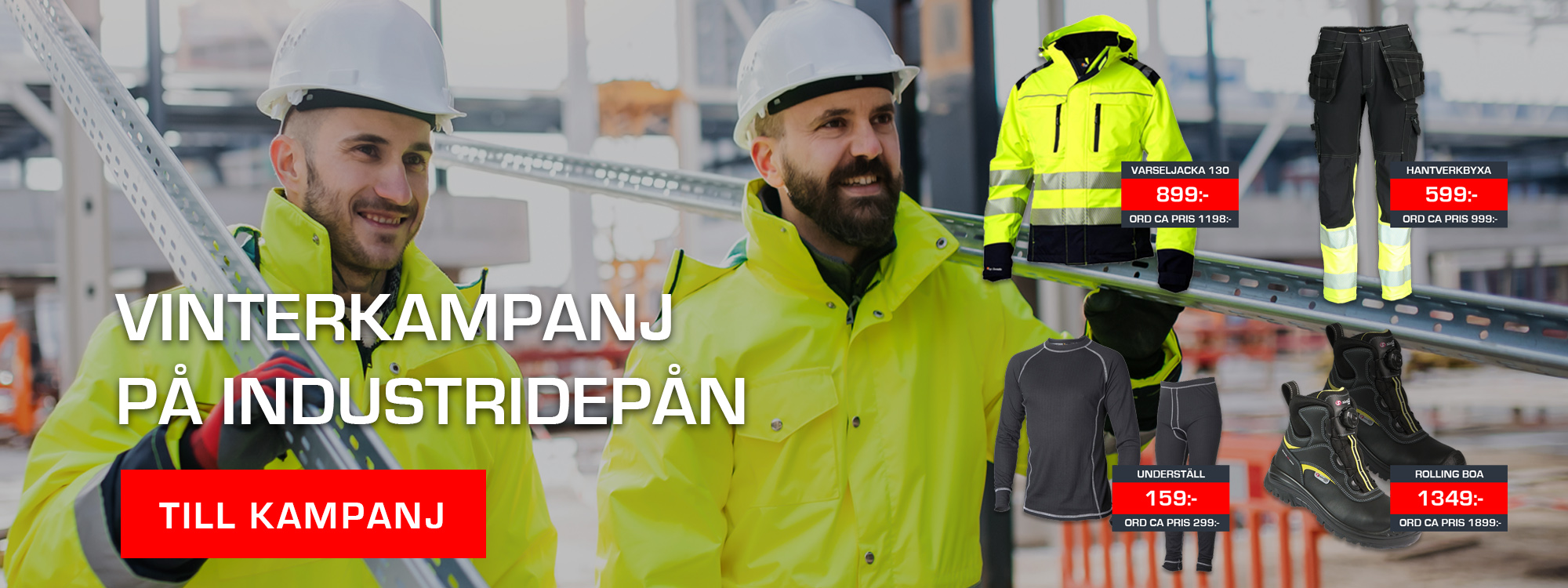 Topswede-arbetskläder